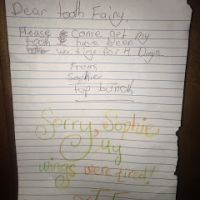 Our Tooth Fairy Is A Lazy, Shiftless Hussy