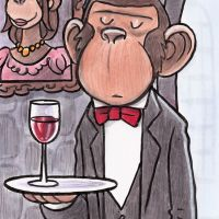 What I Really Want For Mother's Day is a Monkey Butler