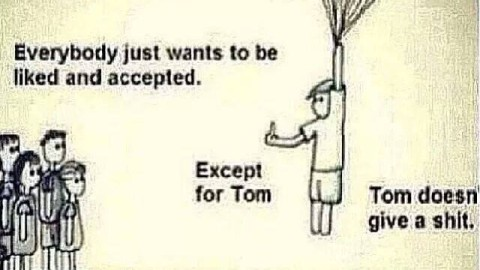 Let's all be more like Tom. Or Edna. #AmWriting